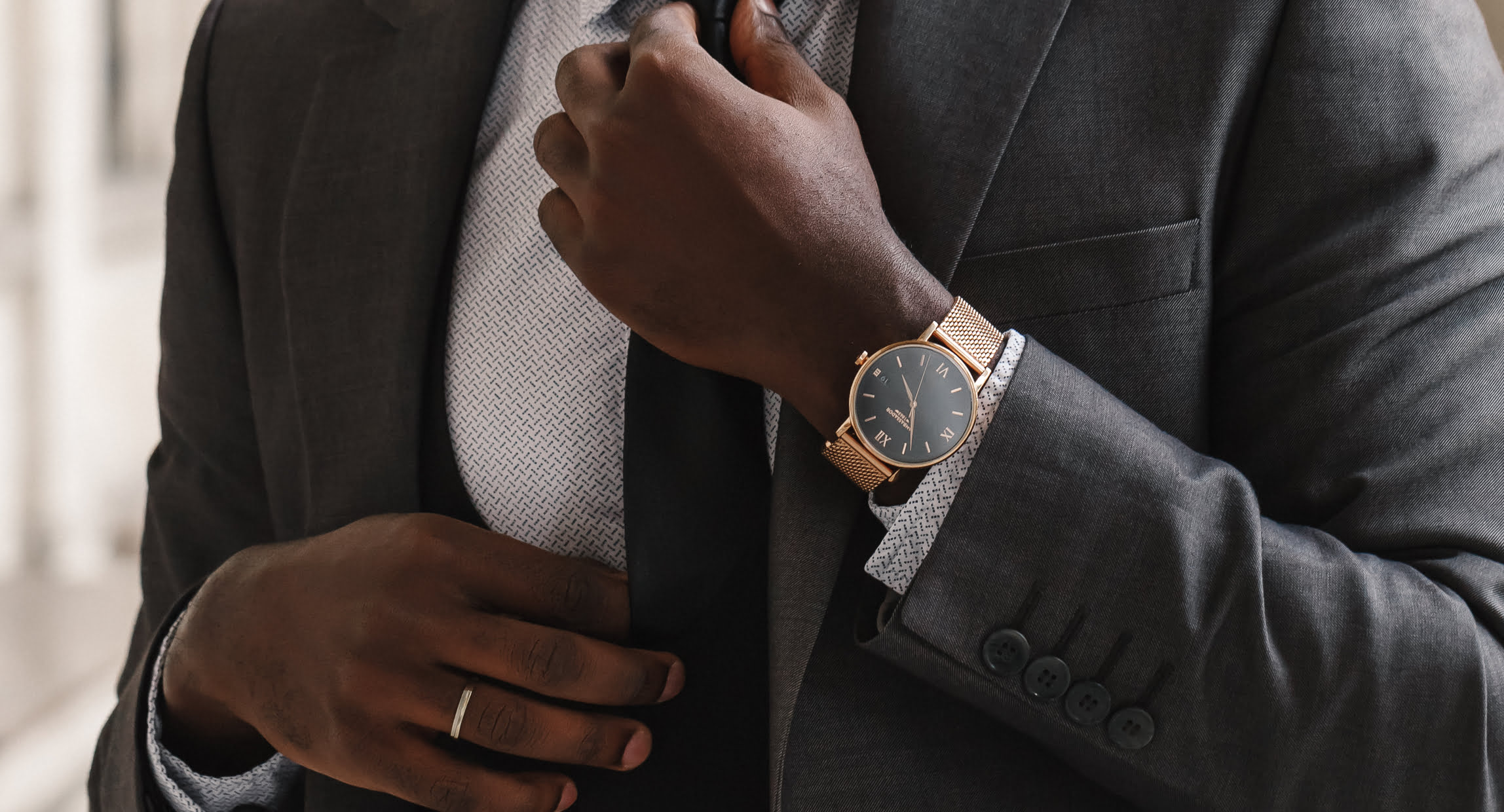 commercial photography watches